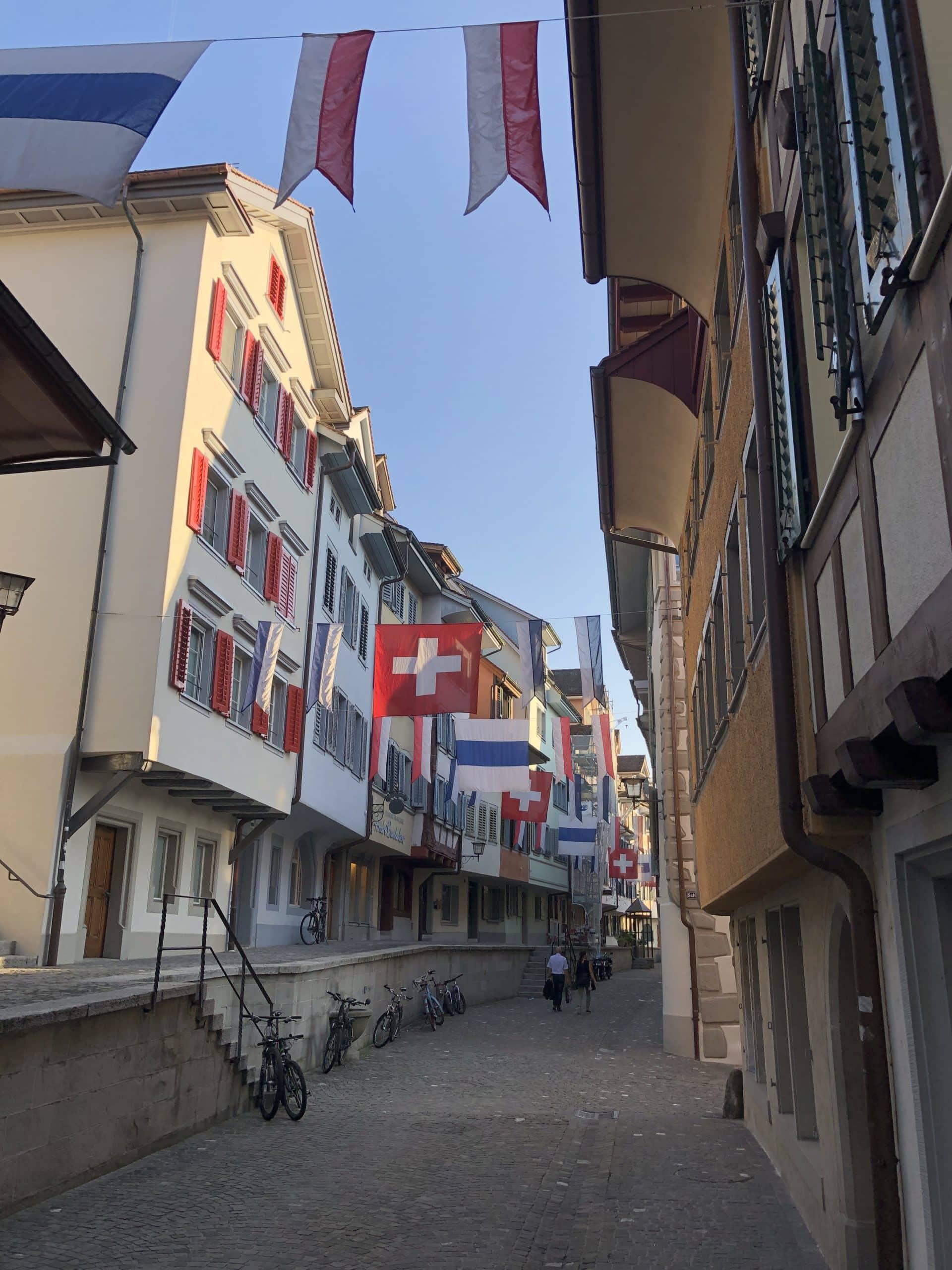 Zug street of shop